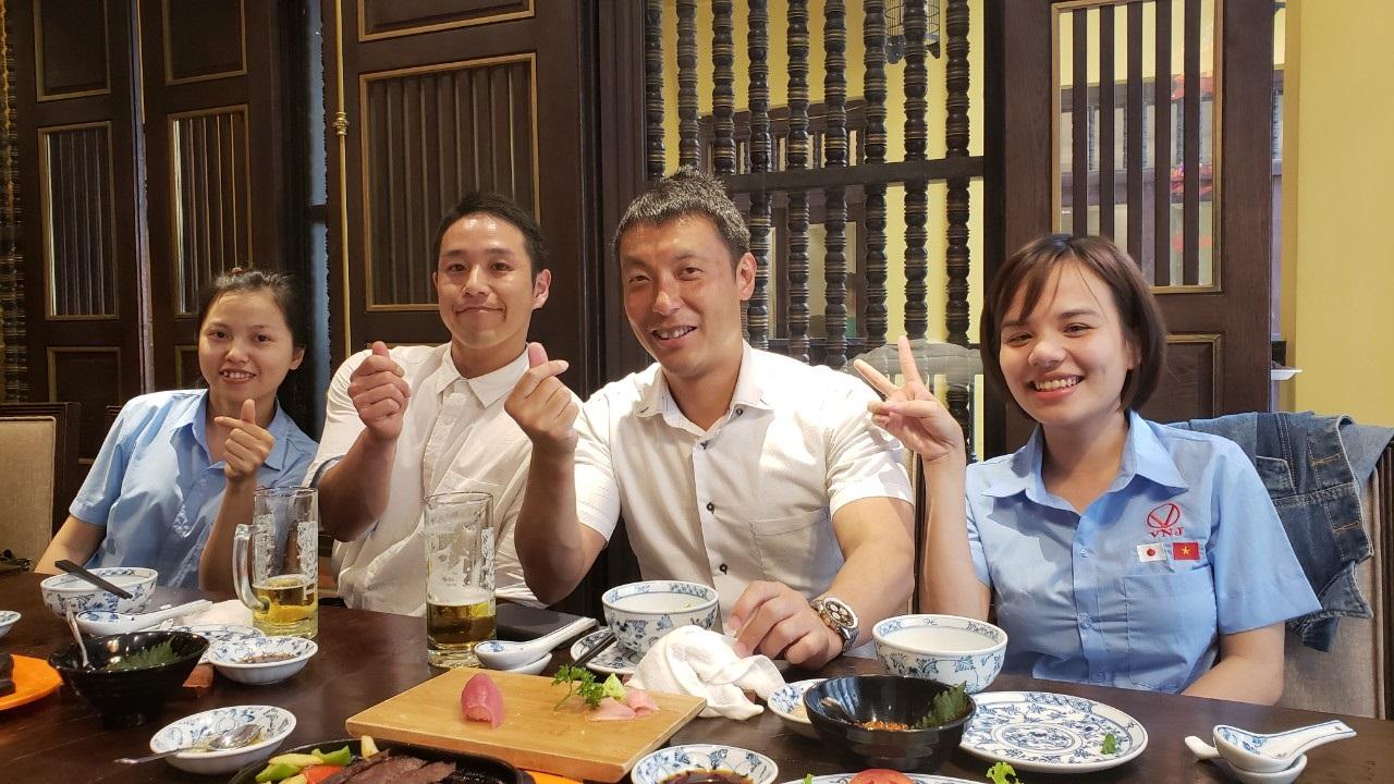 Viện dưỡng lão tại Nhật Bản gặp gỡ thăm hỏi gia đình Thực tập sinh điều dưỡng VNJ