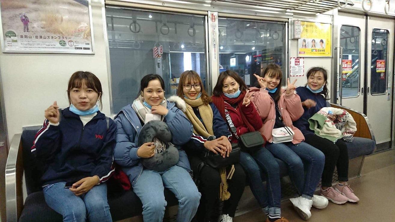 Thú vị những ngày đầu tiên tại Nhật Bản