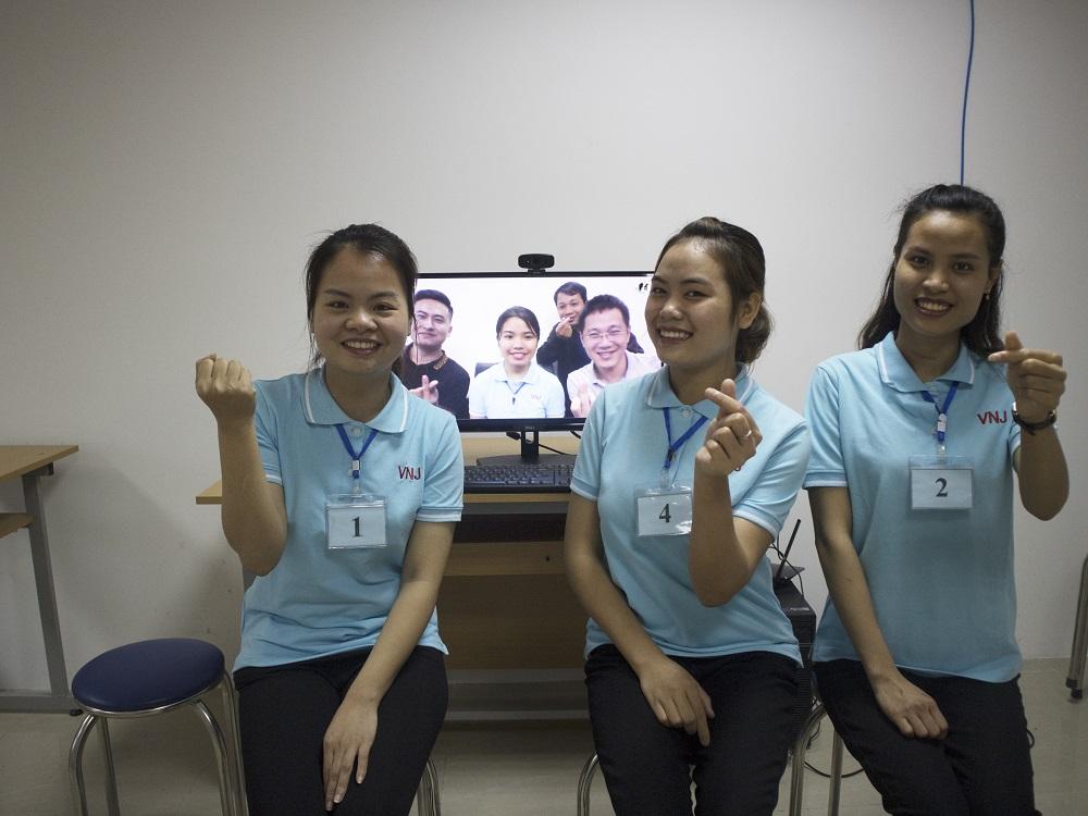 Chúc mừng 4 bạn trúng tuyển đơn hàng Điều dưỡng hộ lý ngày 18/03