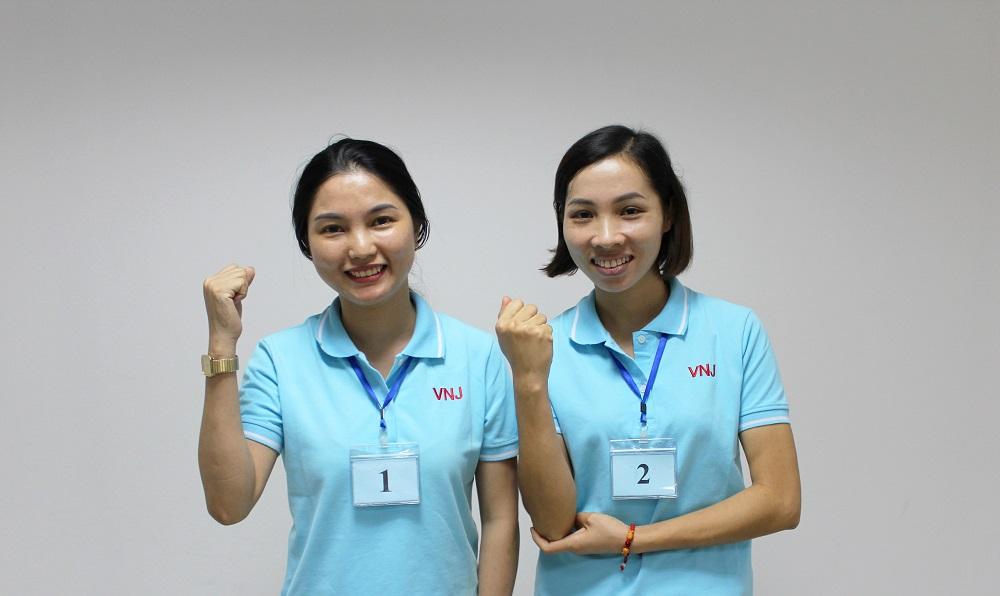 Chúc mừng 2 bạn trúng tuyển công việc Hộ lý tại Nhật Bản ngày 30/07
