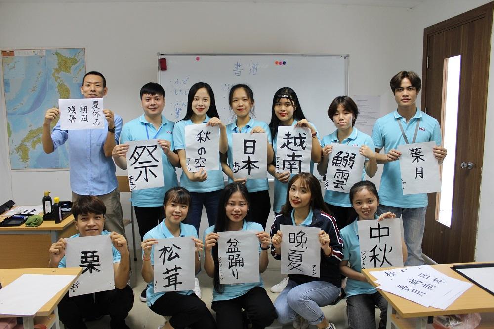 Hào hứng tiết học văn hóa truyền thống Nhật Bản