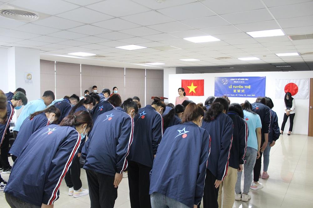 Trung tâm VNJ chào đón TTS quay trở lại học tập