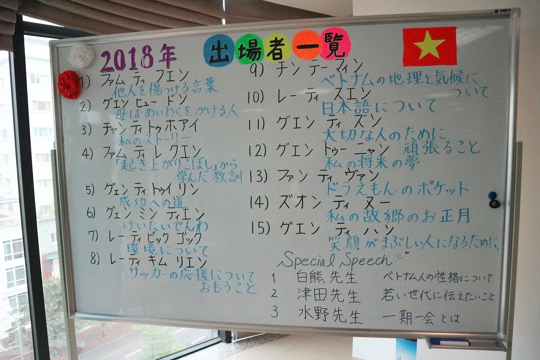 Hùng biện tiếng Nhật VNJ 2018