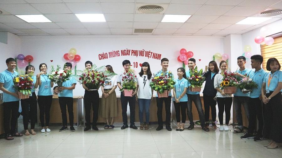 Ấm áp lễ kỉ niệm Ngày phụ nữ Việt Nam 20/10 tại VNJ